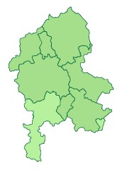 staffordshire ward map