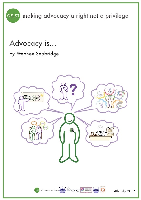 Advocacy is...