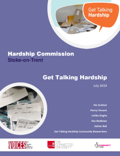 Get Talking Hardship report image